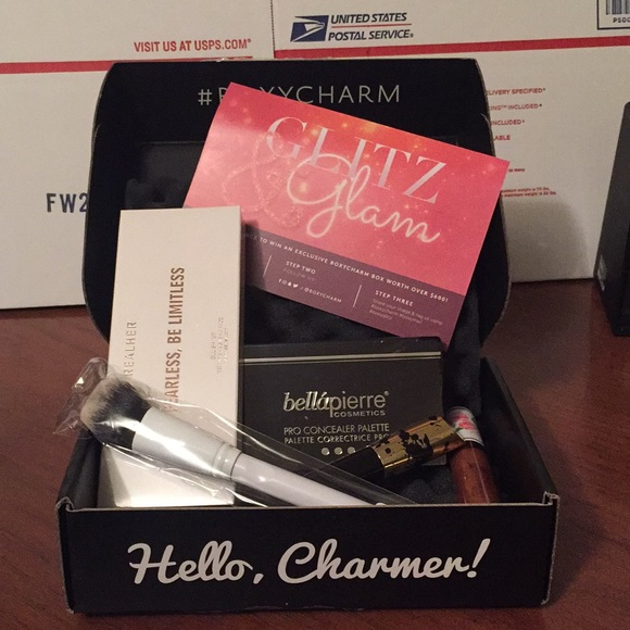 boxy charm makeup decembers poshmark